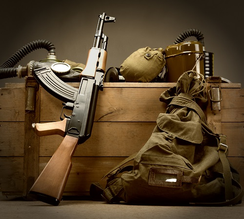 n équipement militaire pour bivouac
