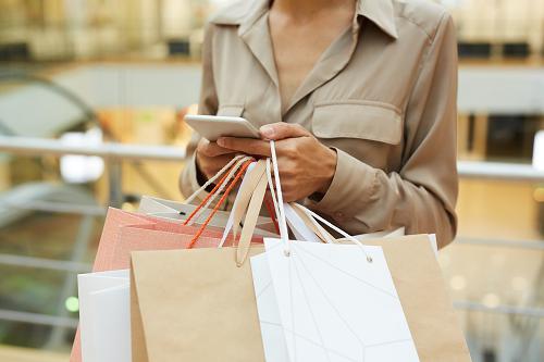 Panier de courses sur la boutique Huléti